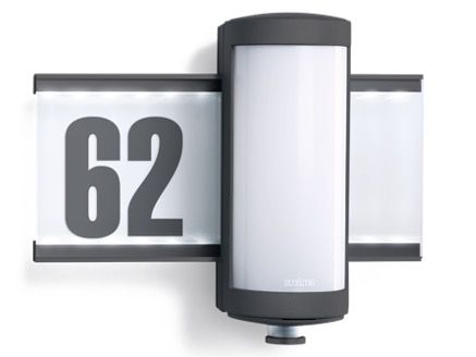 Steinel LED Hausnummerleuchte L625mit Bewegungsmelder für 89,95€ (statt 138€)