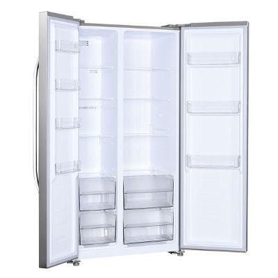 Exquisit Side by Side Kühlschrank SBS45H040F Inoxlook für 583,90€ (statt 768€)