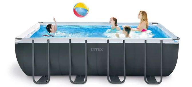 Intex Framepool Ultra Quadra XTR Set 549x274x132cm mit Sandfilteranlage für 999€ (statt 1.279€)