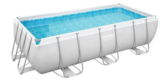 Bestway Power Steel Frame Pool Komplett Set (549 x 274 x 122cm) mit Filterpumpe für 703,95€ (statt 1.129€)
