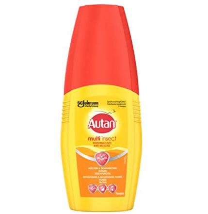 5er Pack Autan Multi Insect Pumpspray Multi-Insektenschutz vor Mücken, Stechfliegen und Zecken für 14,37€ (statt 20€)