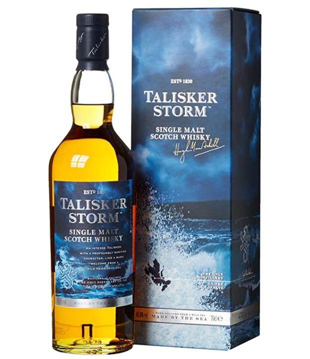 Talisker Storm Single Malt Scotch Whisky (0,7 L, 45,8%) für 25€ (statt 35€)   Prime
