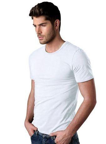 2er Pack H.I.S T Shirt mit Rundhalsausschnitt und kleinem Logo ab 16,99€ (statt 23€)