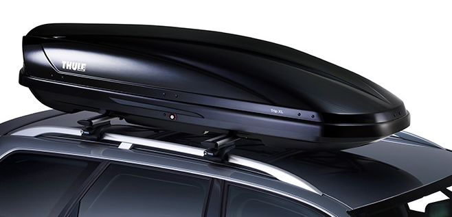 Thule Trip XL Black Glossy Dachbox mit DualSide Öffnung für 399,99€ (statt 564€)   nur Abholung