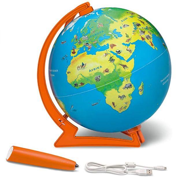 Tiptoi Starter Set: Stift und Junior Globus Lernsystem für Kinder ab 4 Jahren für 26€ (statt 70€)