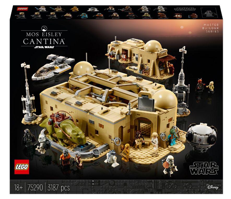 Lego Star Wars   Mos Eisley Cantina (75290) für 280€ (statt 323€)