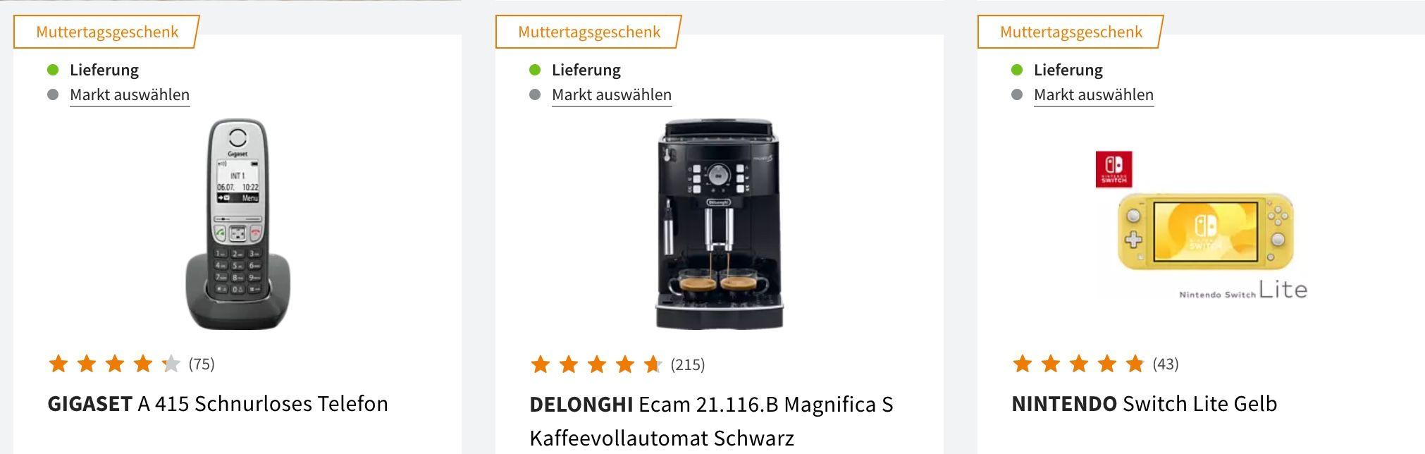 Saturn Mutter  u. Vatertags Sale: z.B. PHILIPS S9711/31 Series 9000 Rasierer für 184€ (statt 243€)