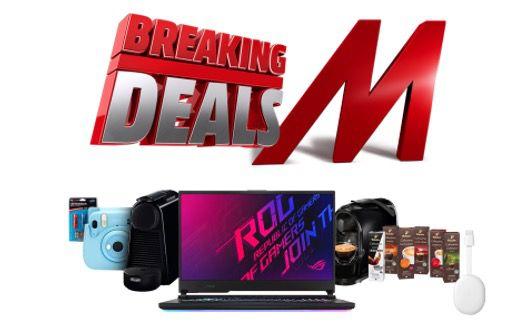 MediaMarkt Breaking Deals   z.B. CANON PowerShot SX740 HS Digitalkamera für 267€ (statt 330€)