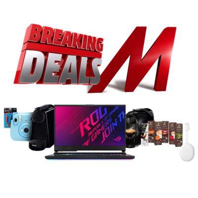 MediaMarkt Breaking Deals – z.B. CANON PowerShot SX740 HS Digitalkamera für 267€ (statt 330€)