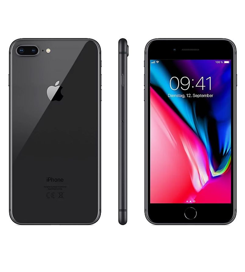 Apple iPhone 8 Plus mit 128GB in Space Grey für 464€ (statt 532€)