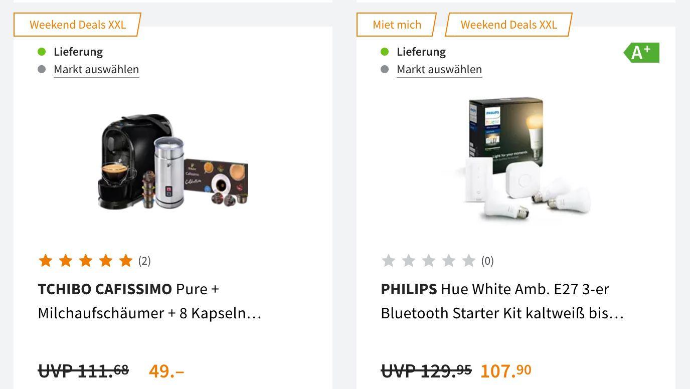 Saturn Weekend XXL Deals   z.B. PHILIPS 43PUS7805   43 Zoll UHD Ambilight TV für 359€ (statt 399€)