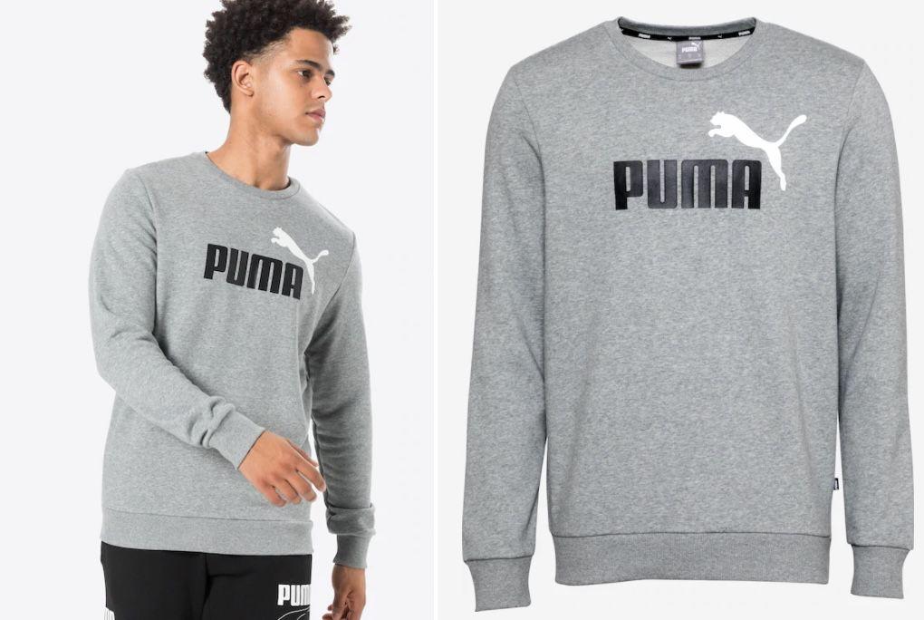 Puma Sport Sweatshirt in Grau für 13,95€ (statt 34€)