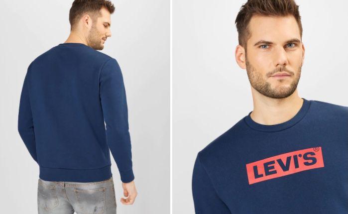 Levis T3 Graphic Sweatshirt in Blau für 22,45€ (statt 46€)