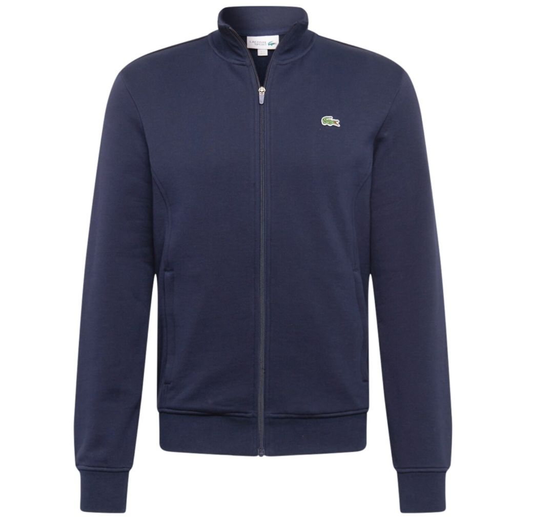Lacoste Sport Zip Up Sweatjacke in Navy für 49,95€ (statt 80€)