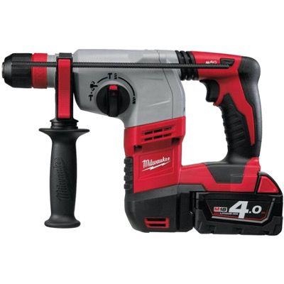 Milwaukee HD18HX-402C Bohrhammer mit 2x 4,0 Ah Akku (18V) für 428,90€ (statt 504€)