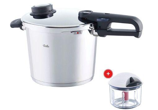 Fissler Schnellkochtopf Vitavit Premium 6,0 Liter inkl. gratis Finecut für 202,95€ (statt 259€)