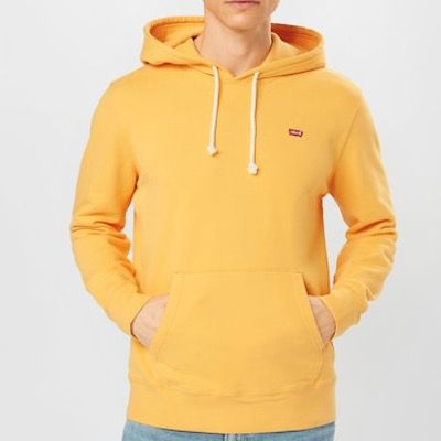Levis New Original Herren Hoodie in Orange für 35,93€ (statt 63€)