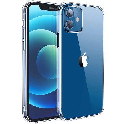 Eono Crystal Clear Smartphone-Hülle für Apple iPhone 12und iPhone 12 Pro für 3€ (statt 12€)
