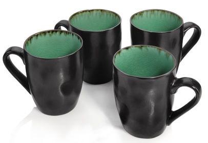 """4er Set Sänger Kaffeebecher """"Palm Beach"""" (je 350 ml) für 25,99€ (statt 38€)"""