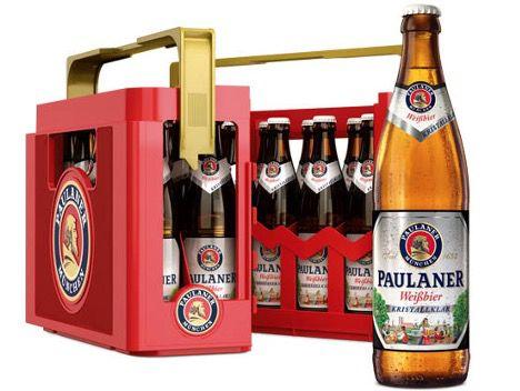 Paulaner Weißbier verschiedene Sorten 20x 0,5 Liter Kiste für 14,99€ (statt 18€)   MHD 5/2021