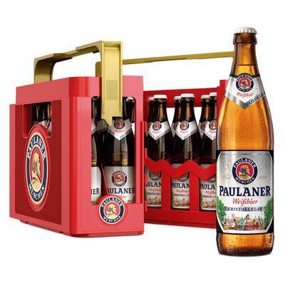 Paulaner Weißbier verschiedene Sorten 20x 0,5 Liter Kiste für 14,99€ (statt 18€) – MHD 5/2021
