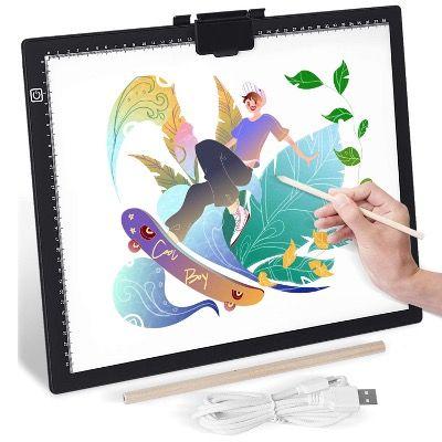 GIANTARM Zeichenbrett ultradünn mit einstellbarer LED-Lichtplatine für 24,99€ (statt 40€)