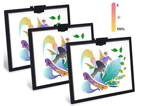 GIANTARM Zeichenbrett ultradünn mit einstellbarer LED Lichtplatine für 24,99€ (statt 40€)
