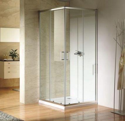 Duschkabine Paola mit Eckeinstieg & Schiebetüren in 90 x 90 cm ab 169,99€ (statt 249€)