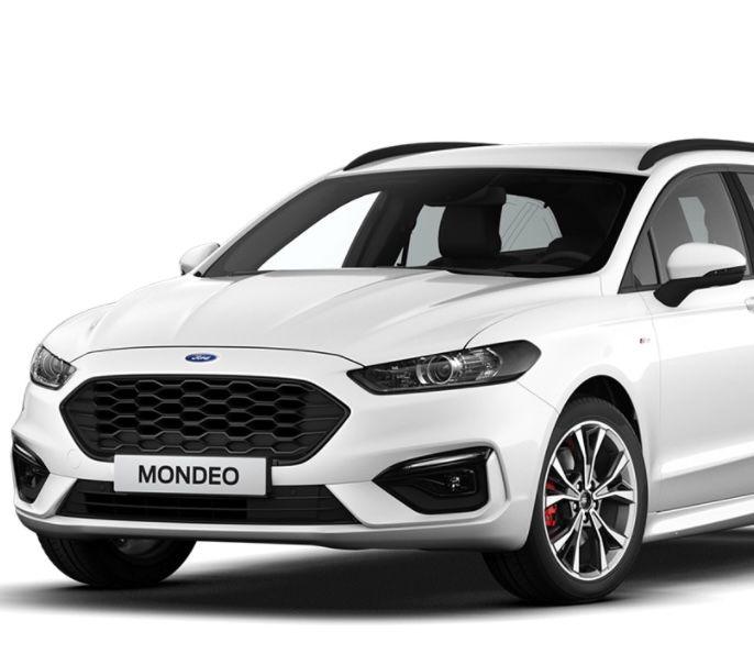 Privat: Ford Mondeo Turnier Hybrid mit 188 PS inkl. FullService & Haustürlieferung für 213€ mtl. – LF: 0,47