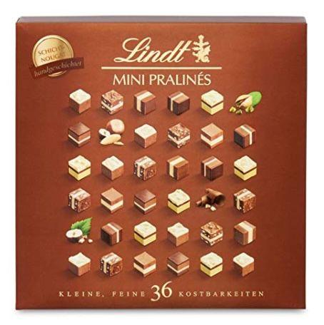 5x Lindt Mini Pralinés Schicht-Nougat Pralinen für 34,76€ (statt 45€)
