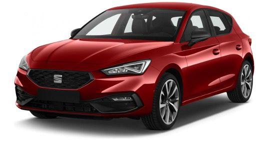 Privat: Seat Leon FR 1.4 e Hybrid mit 204PS und DSG in Pure Rot für 136,01€ mtl.   LF 0,49