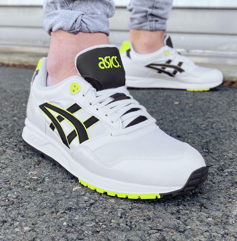 Asics GEL Saga Sneaker mit gelben Akzenten für 48,94€ (statt 67€)