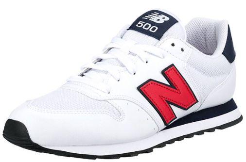 New Balance 500 Sneaker in Weiß ab 52,39€ (statt 75€)