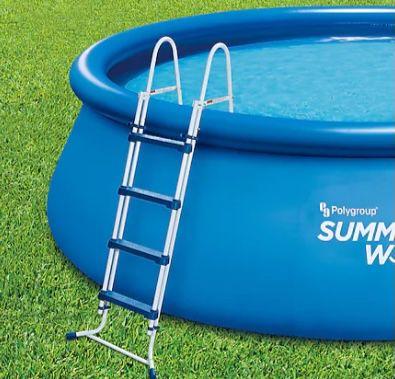 Summer Waves Pool mit Sicherheitsleiter für 64,99€ (statt 79€)