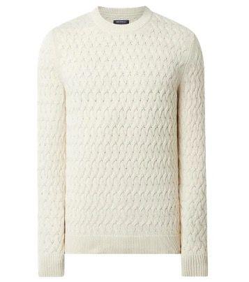 McNeal Pullover aus Bio Baumwolle Kai in Blau oder Weiß für 19,99€ (statt 40€)