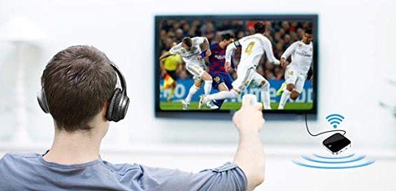 ZeaLife Audio Adapter mit Bluetooth 5.0 Sender und Empfänger mit aptX Low Latency für 10,80€ (statt 36€)