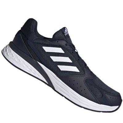 adidas Schuh Response Run in Dunkelblau-Weiß für 38,95€ (statt 52€)