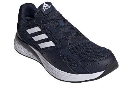 adidas Schuh Response Run in Dunkelblau Weiß für 38,95€ (statt 52€)