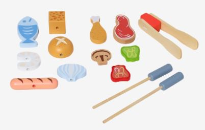 Vertbaudet Kinder Spielgrill aus Holz (FSC zertifiziert) für 26,44€ (statt 49€)