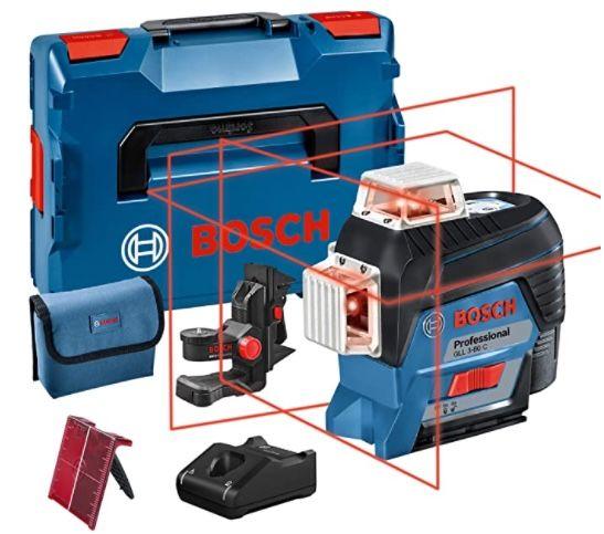 Bosch Professional GLL 3-80 C 12V System Linienlaser mit App-Funktion für 361,16€ (statt 408€)