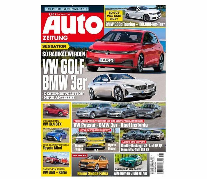 26 Ausgaben Auto Zeitung für 91,20€ + Prämie: 90€ BestChoice Gutschein