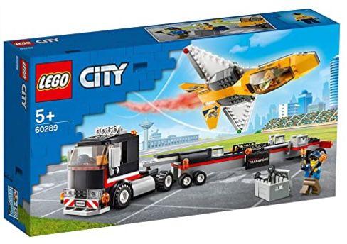 Lego City 60289 Flugshow Jet Transporter für 17,59€ (statt 23€)