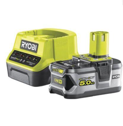 "🔥 Ryobi 18V Akku-Starter-Set ONE+ ""RC18120-150"" inkl. Ladegerät ab 69,99€ (statt 128€)"