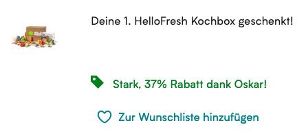 HelloFresh Kochbox für 9,63€   nur für HelloFresh Neukunden