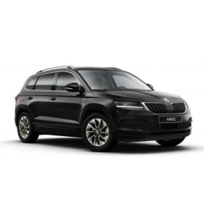 Privat: Skoda Karoq Clever 1,5 TSI mit 150PS in Black-Magic Perleffekt für 204€ mtl. – LF 0,72