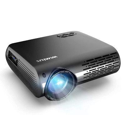 WiMiUS LED-Beamer 7500 LM 1920x1080P mit elektronischer Korrektur für 161,99€ (statt 270€)