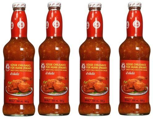 5x Cock Süße Chilisauce mittlere Schärfe thailändisch 650ml für 12,57€ (statt 19€)   Prime Sparabo