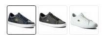 Lacoste Low Sneakers Twin Serve 0721 3 Sma für 59,35€ (statt 91€)