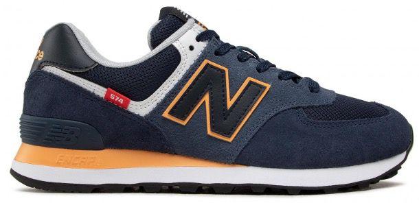 New Balance Sneakers ML574SY2 Dunkelblau für 59,40€ (statt 70€)