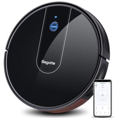 Bagotte Saugroboter 1600Pa mit APP, Google und Alexa Steuerung für 99,99€ (statt 260€)